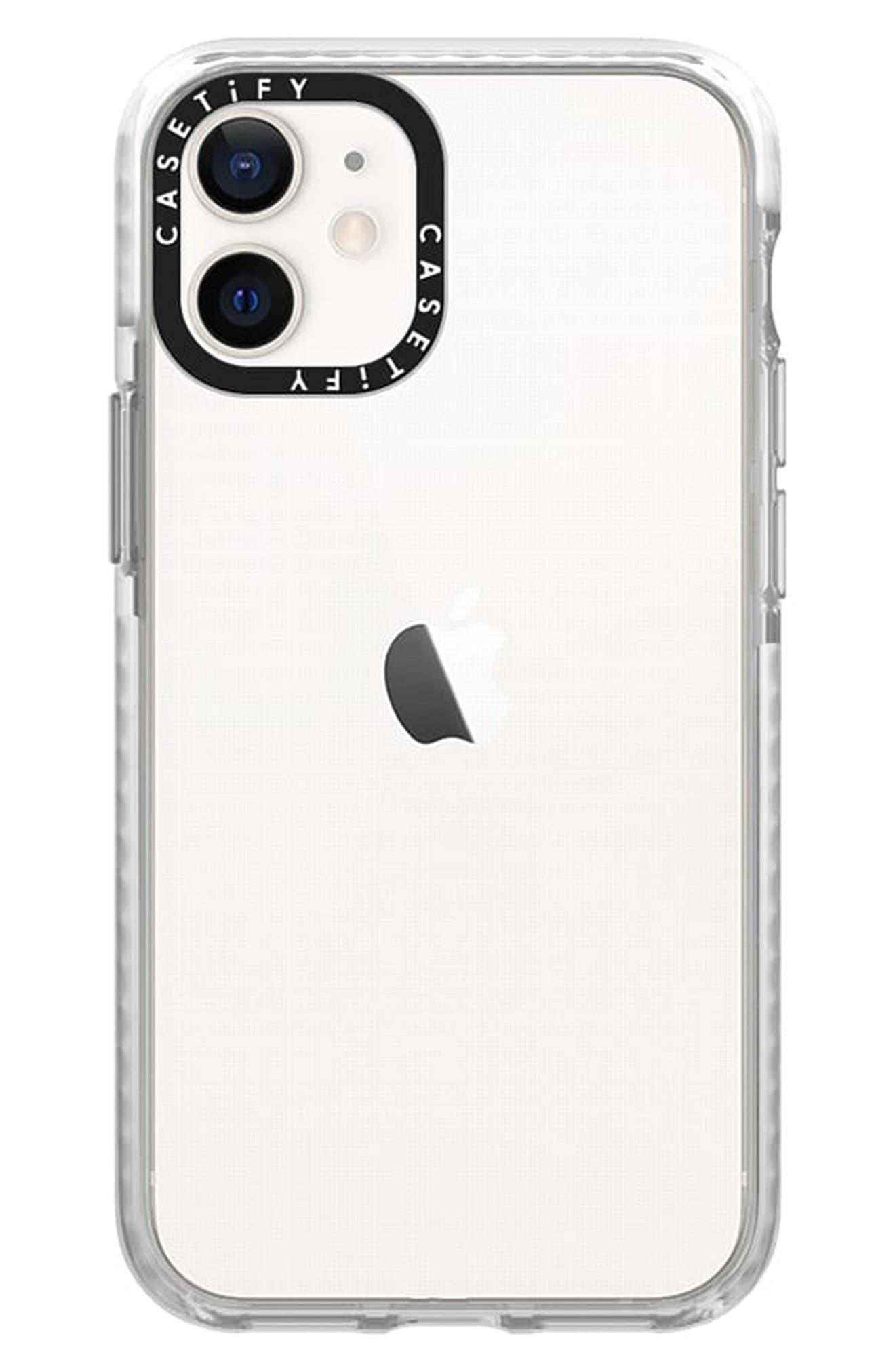 Clear Impact Iphone 12 Mini Case