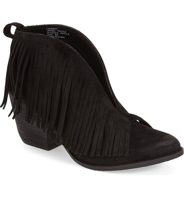 COCONUTS BY MATISSE Matisse Lambert Fringe Bootie (Women), Main, color, 002