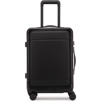 Calpak Hue 22-Inch Front Pocket Carry-On Suitcase - Black