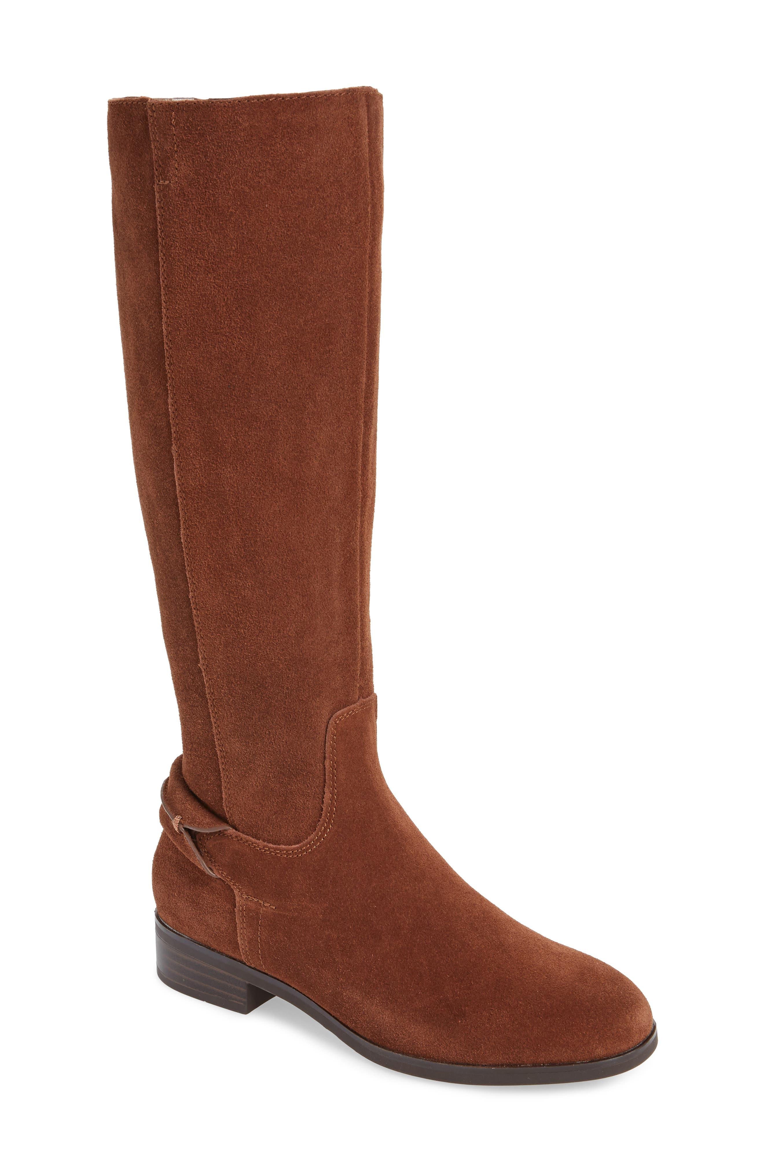 Kensie Cheverly Knee High Boot, Brown
