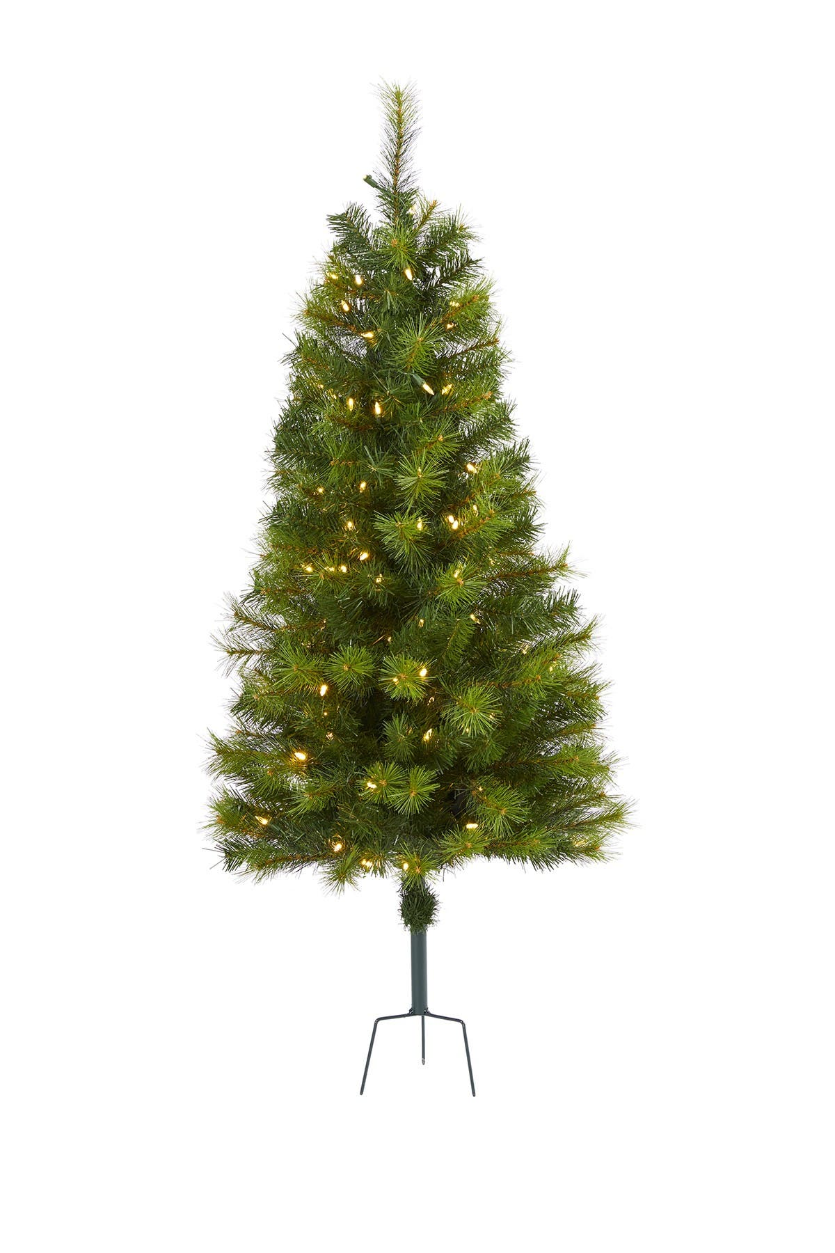 Image of NEARLY NATURAL 4ft. Green Valley Pine Artificial Christmas Tree