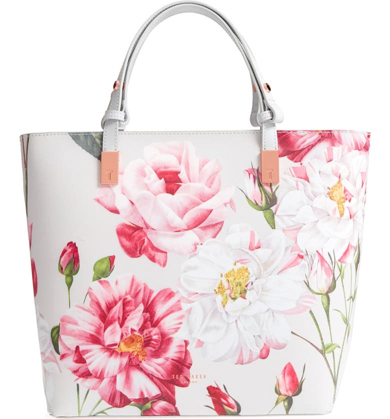 c9407d783aa Ted Baker London Adjustable Handle Leather Tote | Nordstrom