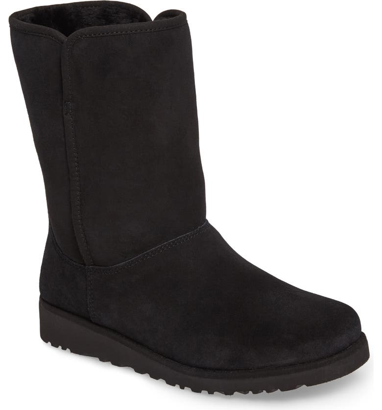 UGG<SUP>®</SUP> Alexey II Water Resistant Genuine Shearling Lined Boot, Main, color, 001