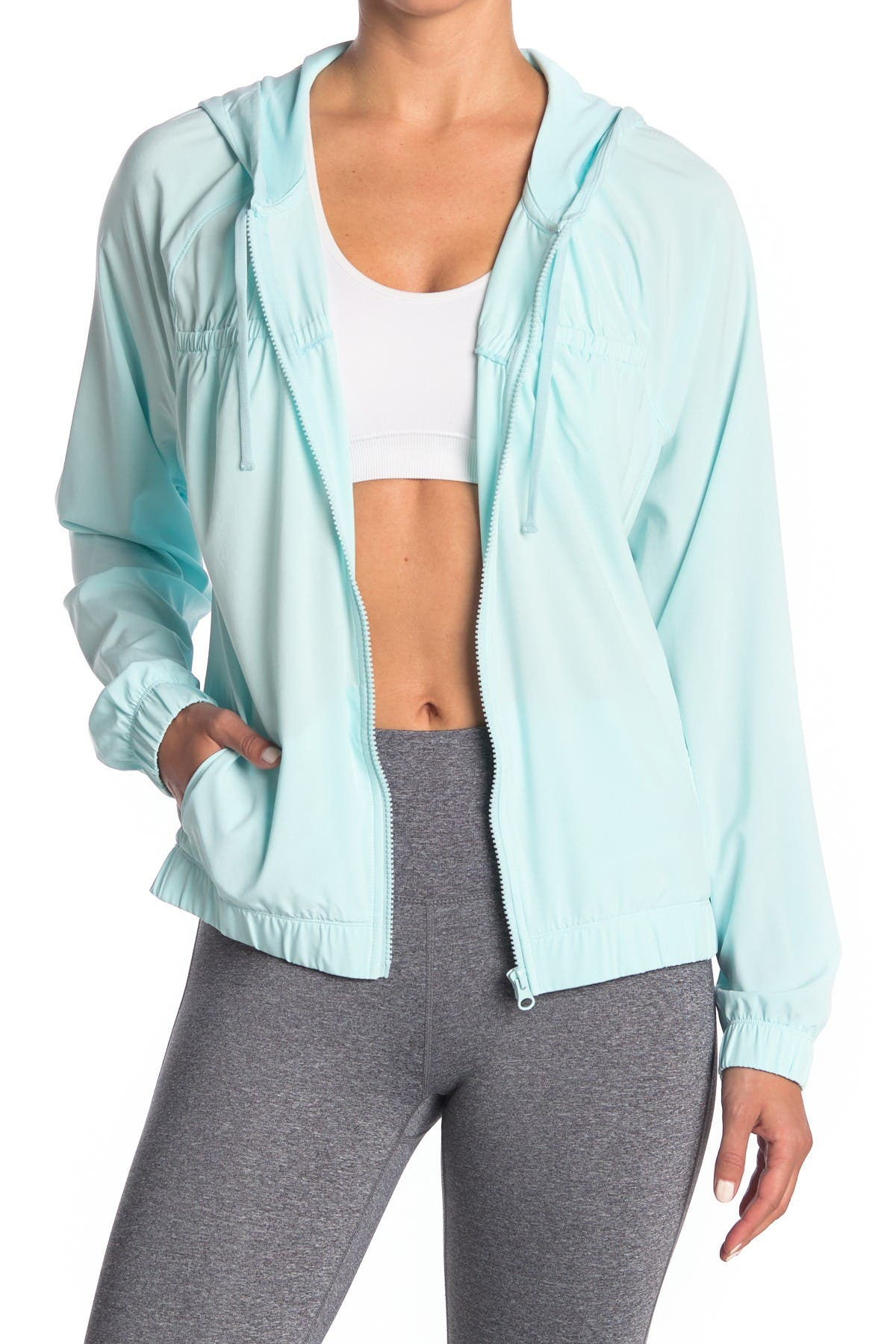 Image of Z By Zella High Impact Woven Jacket