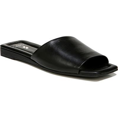 Sarto By Franco Sarto Bordo Slide Sandal, Black