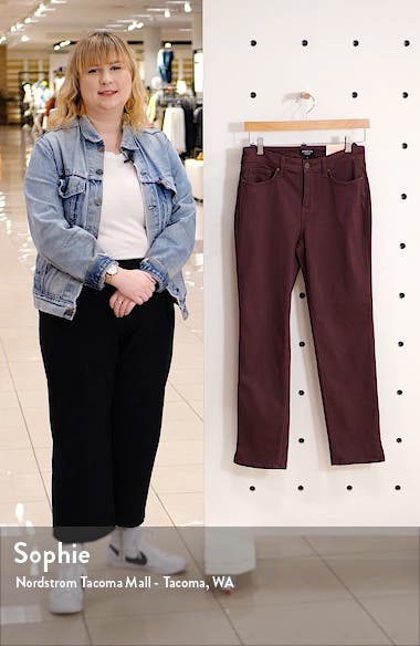 Slim Straight Leg Ankle Jeans, sales video thumbnail