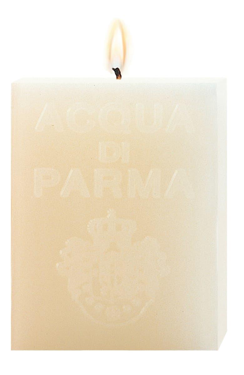 ACQUA DI PARMA 'White Clove' Cube Candle, Main, color, NO COLOR