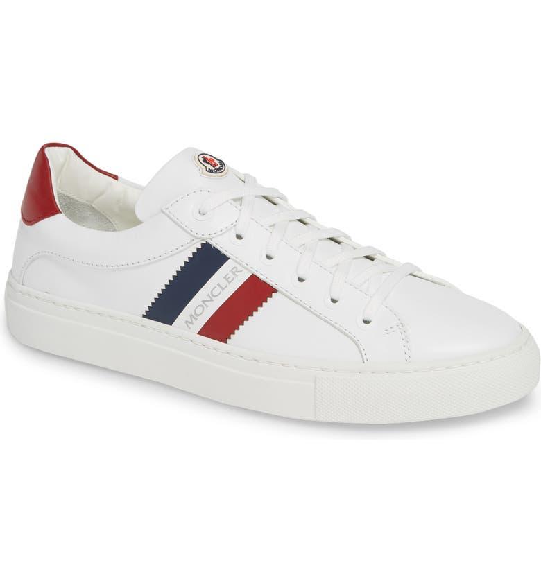 MONCLER New Leni Scarpa Sneaker, Main, color, WHITE