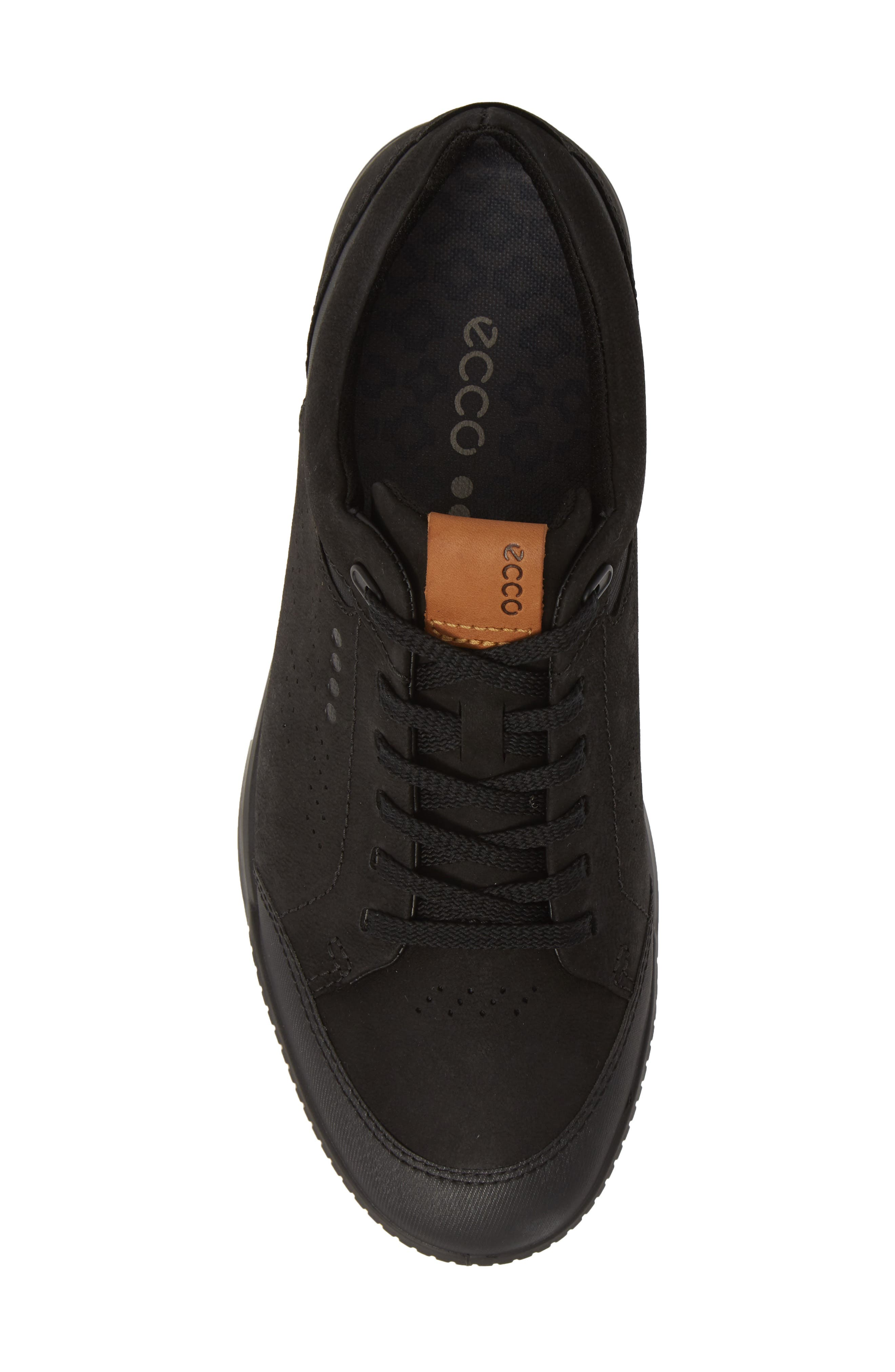,                             Street Retro LX Golf Shoe,                             Alternate thumbnail 5, color,                             BLACK LEATHER