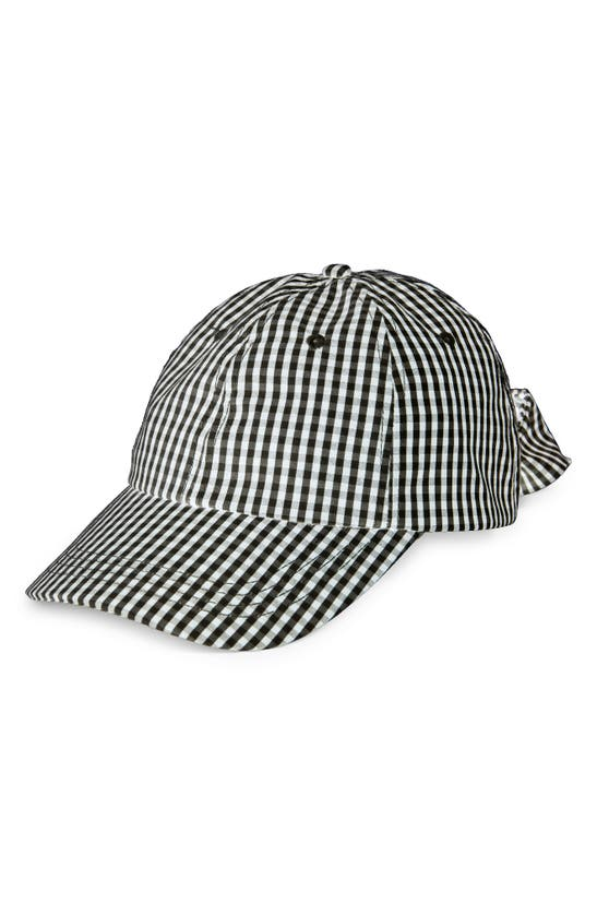 Bp. GINGHAM BOW CAP