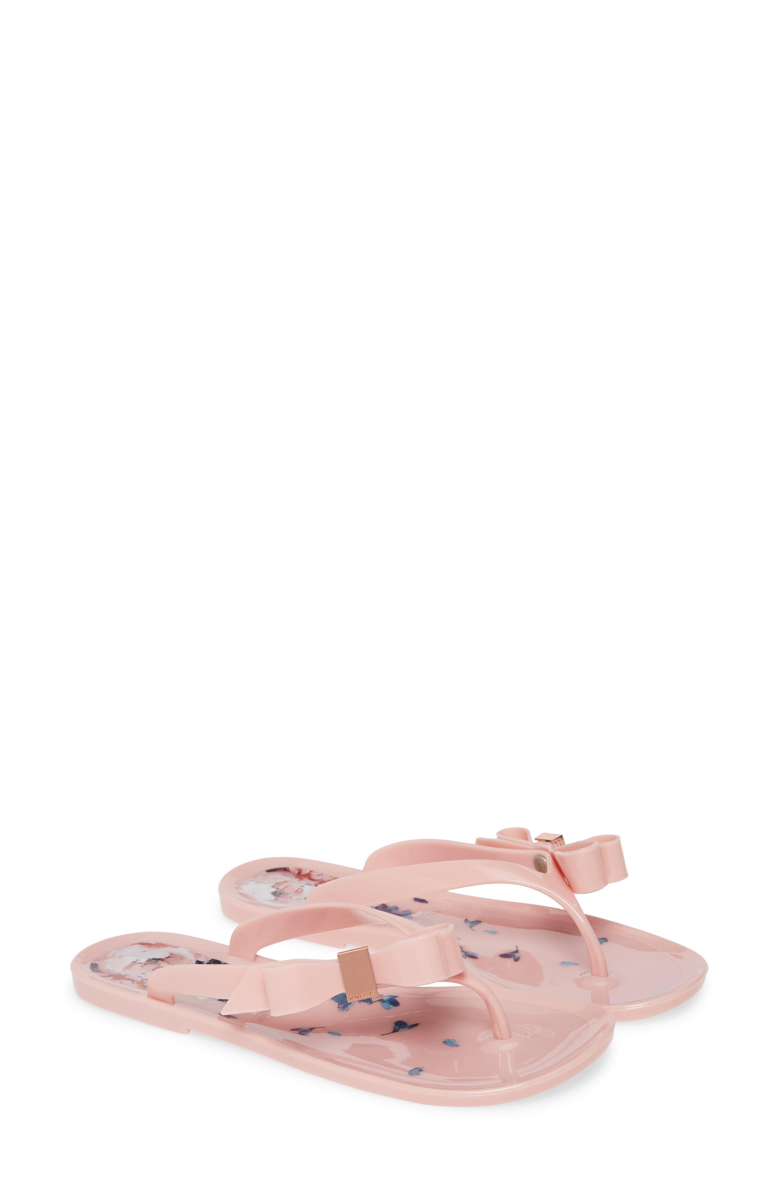 Ted Baker London Suzzip Flip Flop, Pink