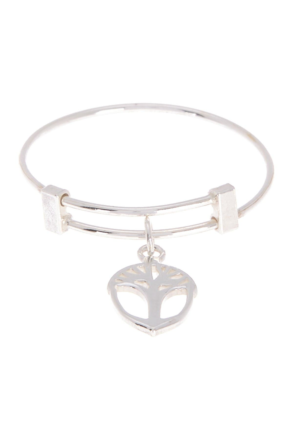 Image of Alex and Ani Expandable Wire Unexpected Miracles Acorn Ring
