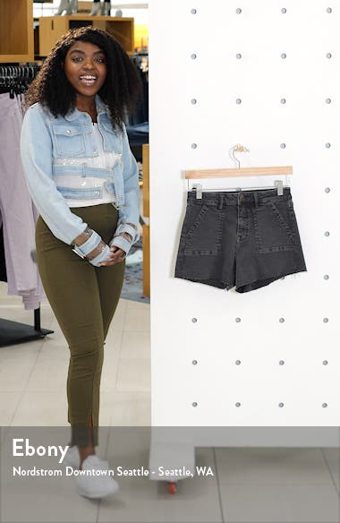 Utilitarian Denim Shorts, sales video thumbnail