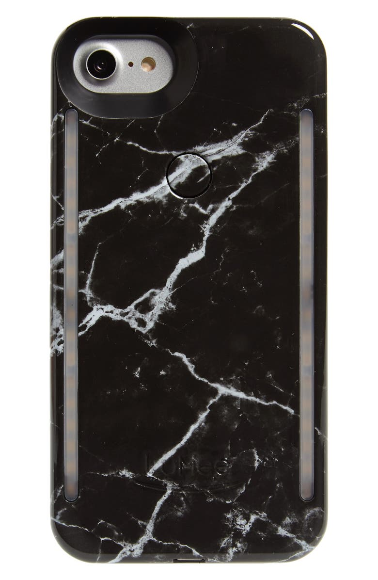 LUMEE Duo Lighted iPhone 6/7/8 & 6/7/8 Plus Case, Main, color, 001