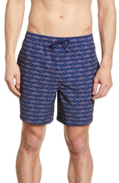 dc00ff0d9f49b Vineyard Vines Bonefish Sketch Chappy Swim Trunks In Deep Bay ...