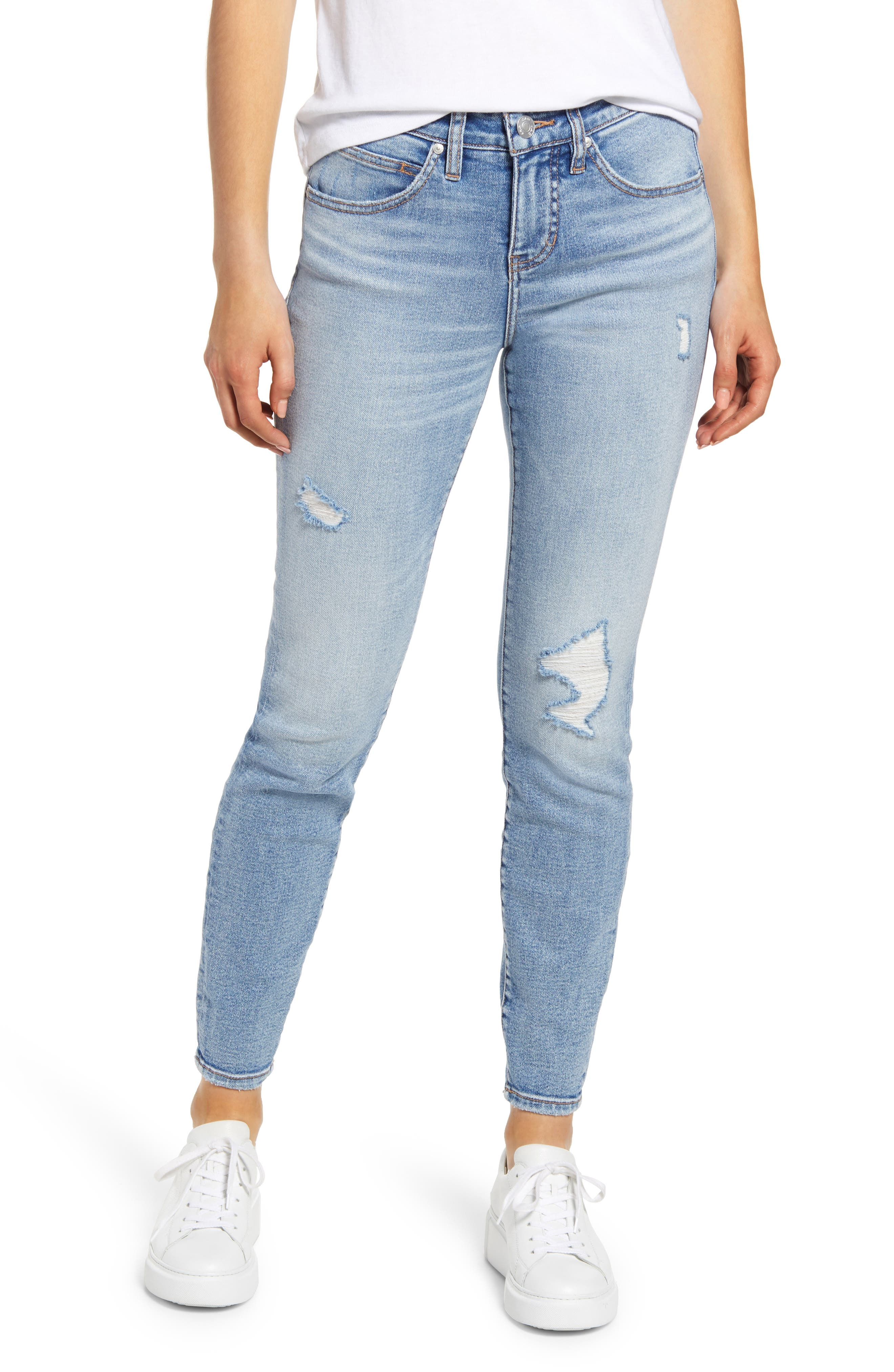 Cecilia High Waist Ankle Skinny Jeans