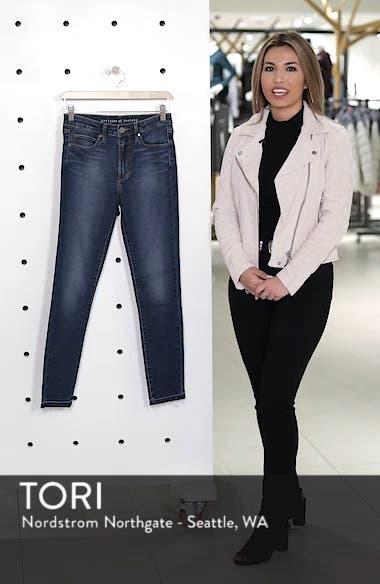 Heather High Waist Crop Skinny Jeans, sales video thumbnail