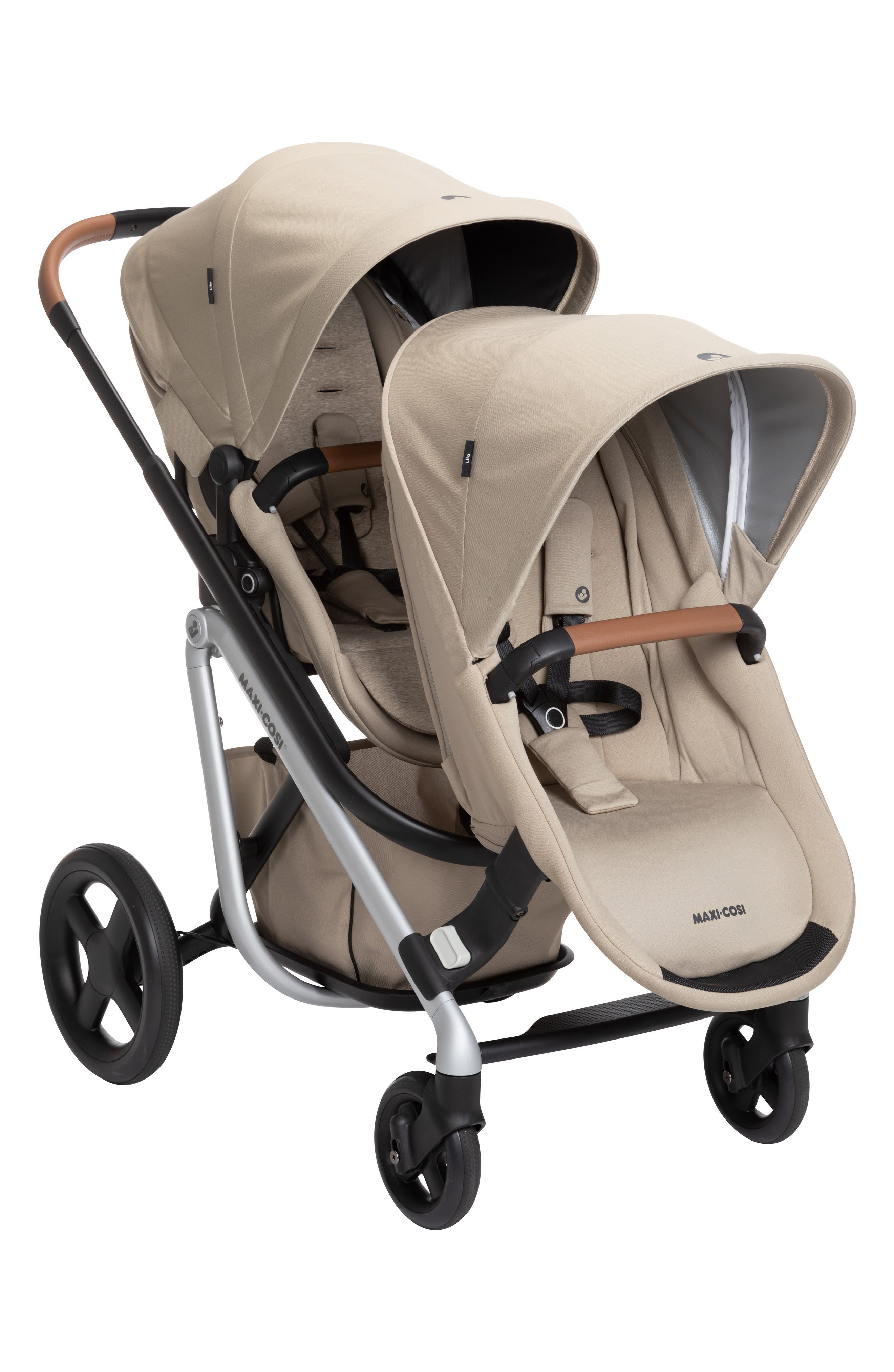 Infant MaxiCosi Lila Duo Sibling Seat Kit Size One Size  Beige