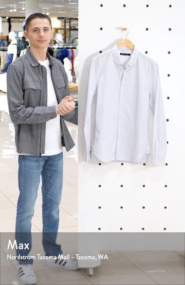 Slim Fit Pinstripe Button-Down Shirt, sales video thumbnail