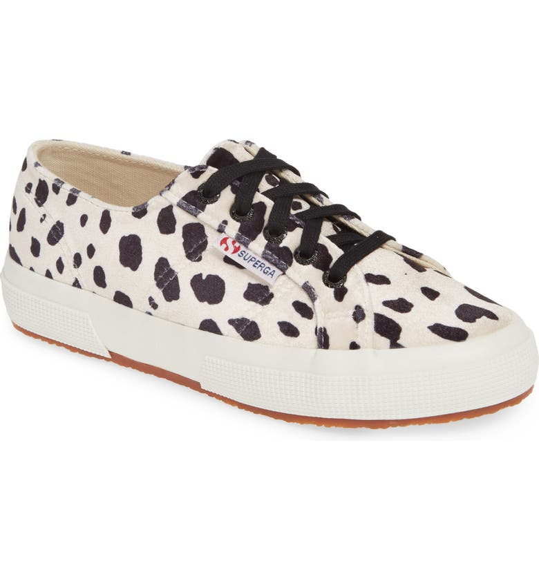 SUPERGA 2750 Sneaker, Main, color, DALMATIAN