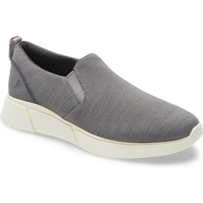 Hush Puppies Cooper Slip-On Sneaker- Grey