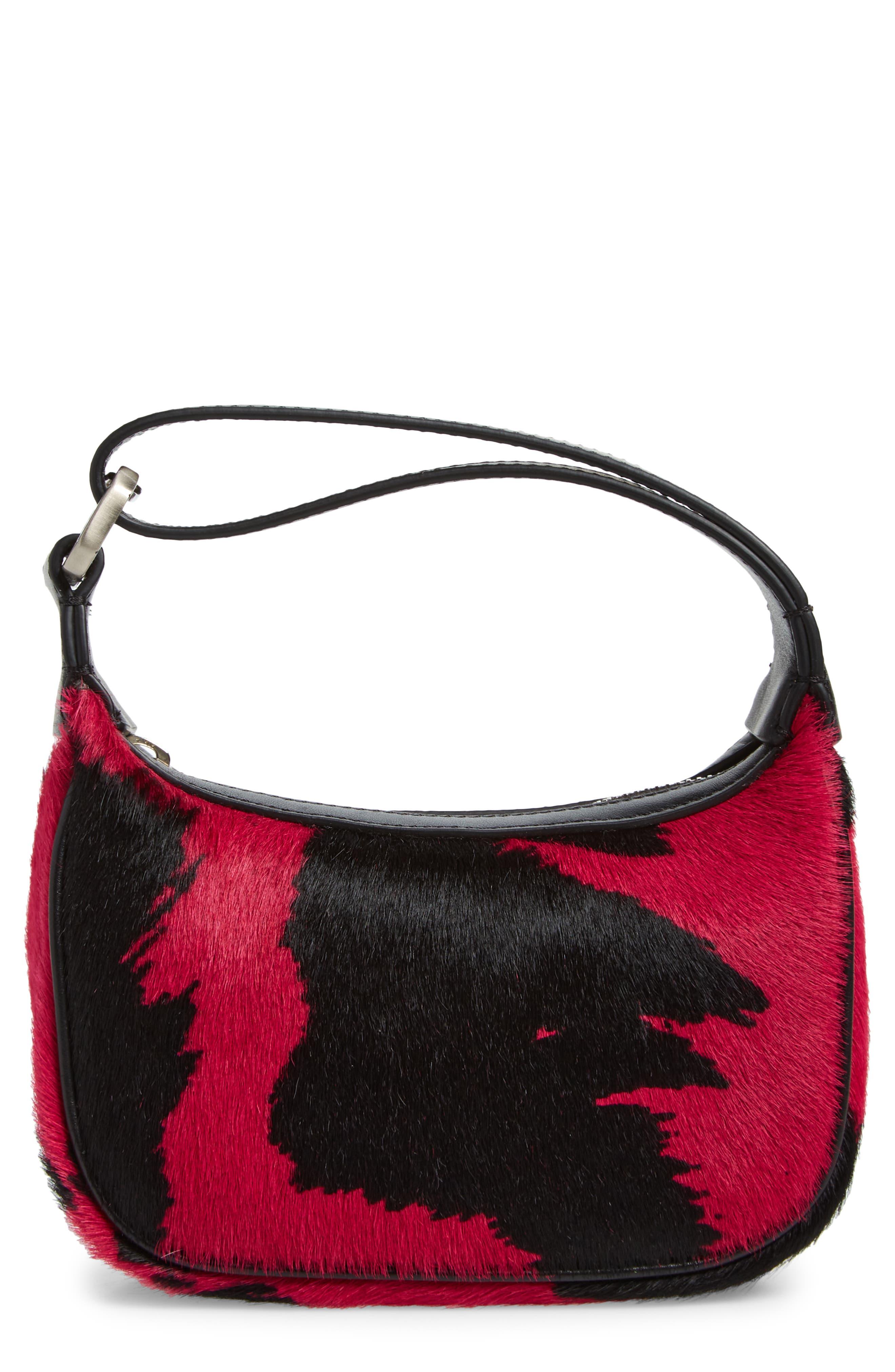 Eera Mini Moonbag Genuine Calf Hair Handbag