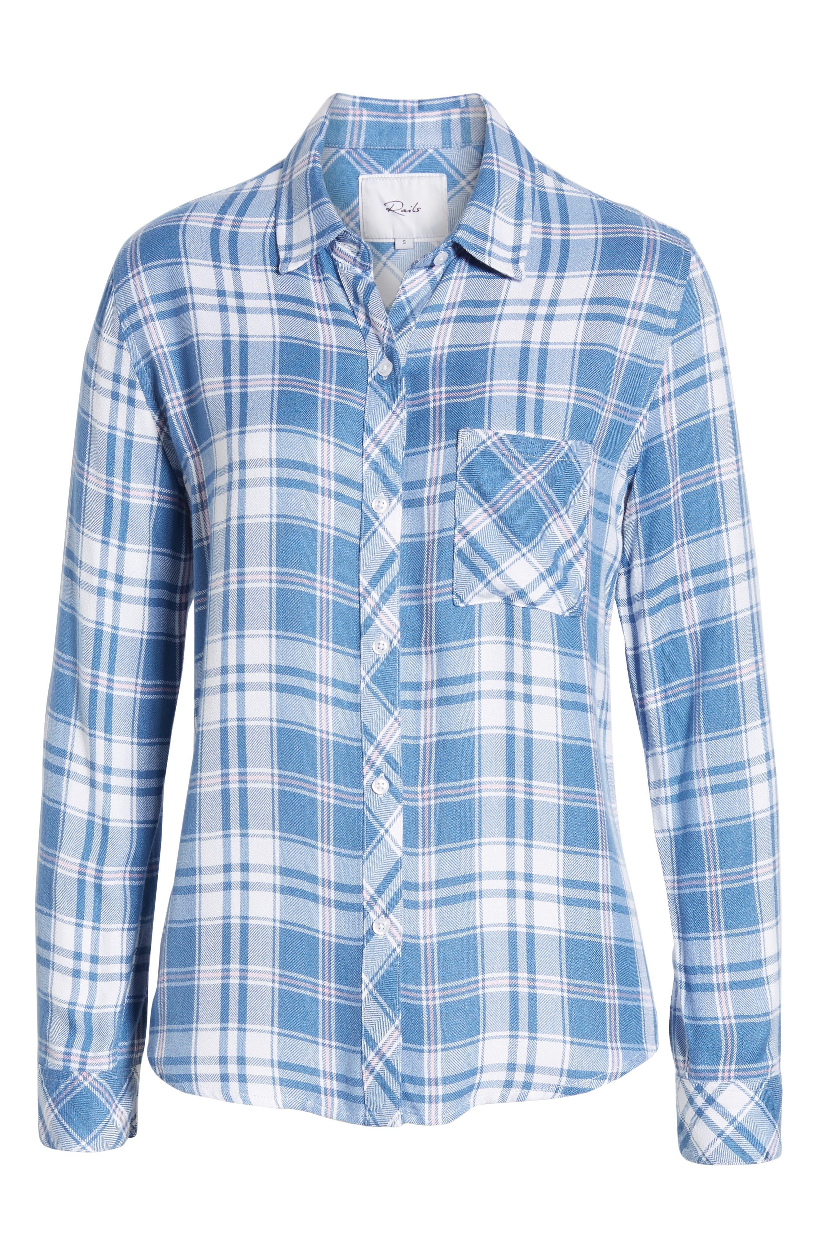 ,                             Hunter Plaid Shirt,                             Alternate thumbnail 162, color,                             481