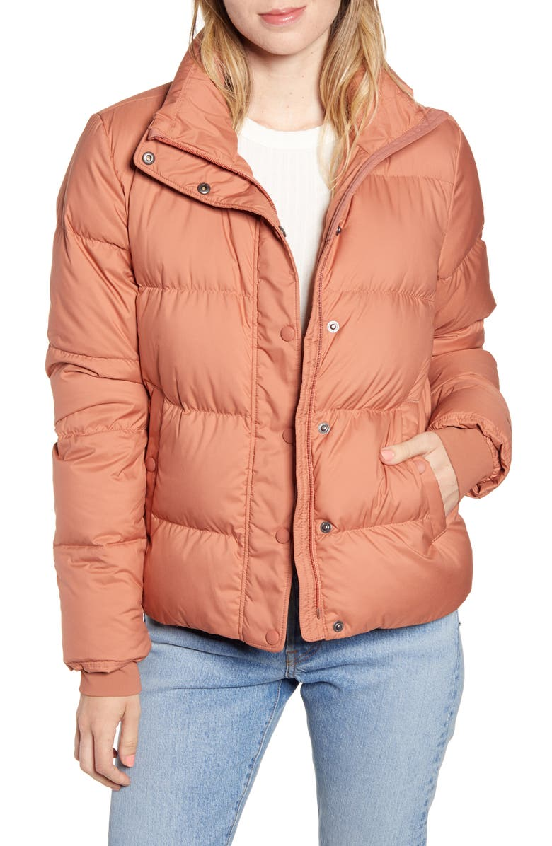PATAGONIA Silent Water Repellent 700-Fill Power Down Insulated Jacket, Main, color, CENTURY PINK
