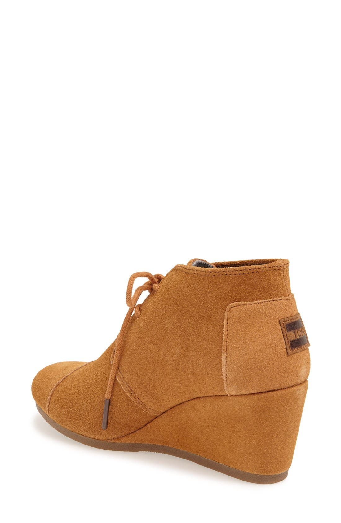 ,                             'Desert' Wedge Bootie,                             Alternate thumbnail 10, color,                             200