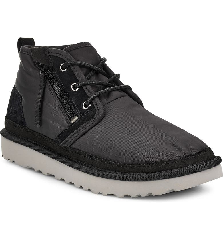 UGG<SUP>®</SUP> Neumel Chukka Boot, Main, color, BLACK