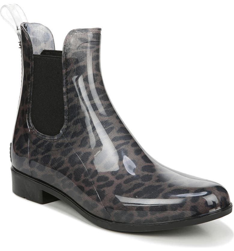 SAM EDELMAN Tinsley Rain Boot, Main, color, DARK LEOPARD RUBBER