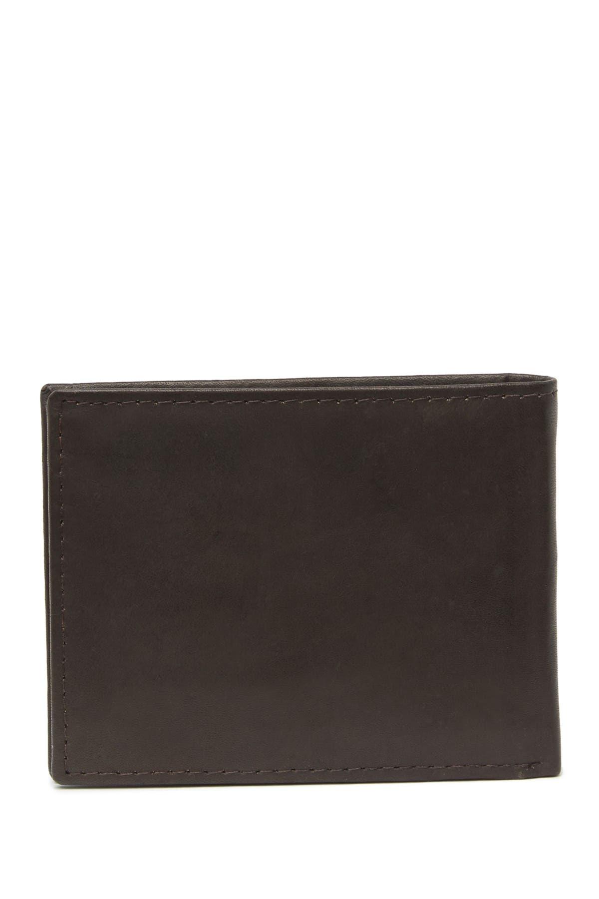 Image of Tahari Leather Key Fob & Bifold Wallet Set