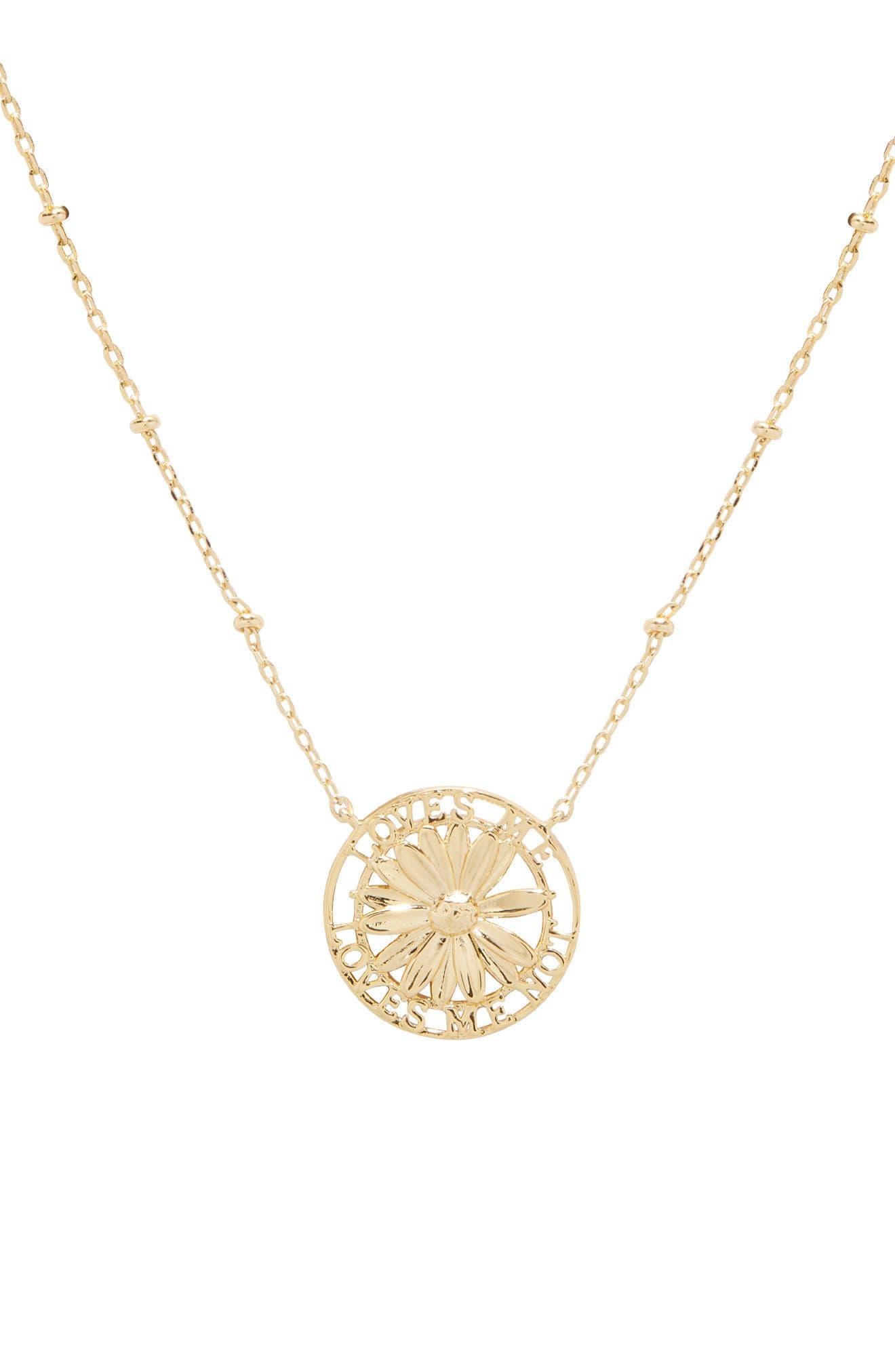 Love Me Pendant Necklace