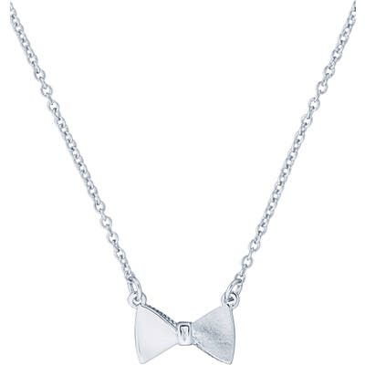 Ted Baker London Tengar Tux Bow Pendant Necklace