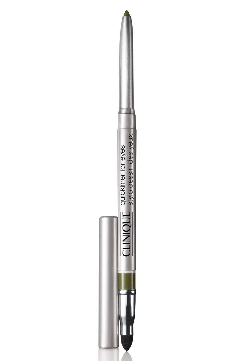 CLINIQUE Quickliner for Eyes Eyeliner Pencil, Main, color, TRUE KHAKI