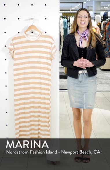 The Boxy Shirttail Midi Dress, sales video thumbnail