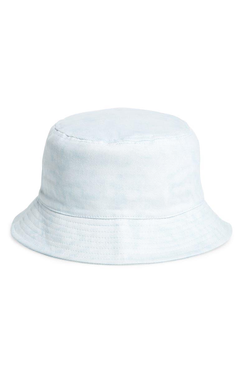 BP. Washed Dye Bucket Hat, Main, color, BLUE DENIM
