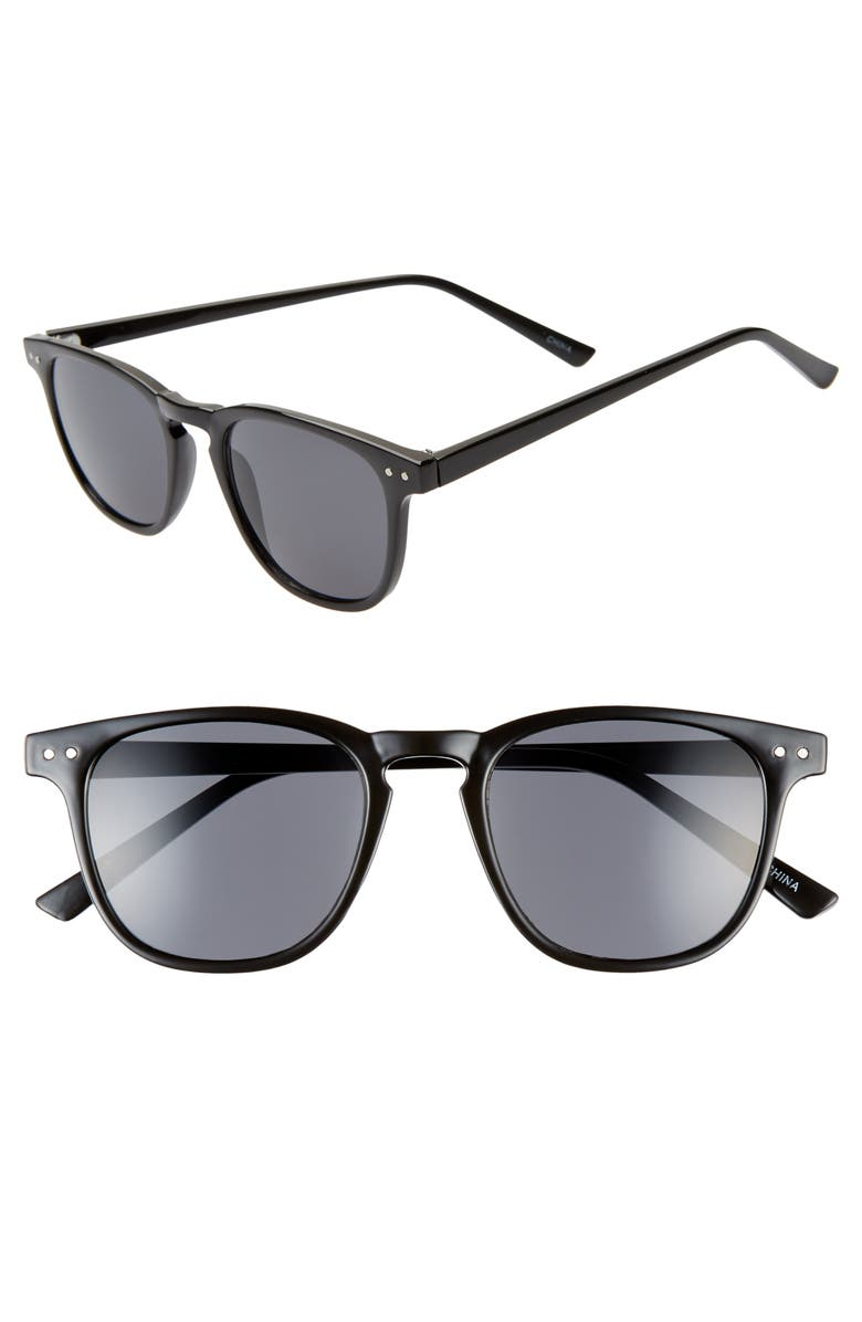 BP. x Alex Costa Sunglasses, Main, color, BLACK/ BLACK