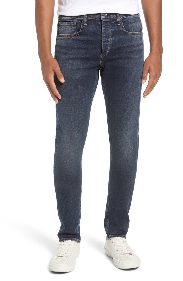 RAG & BONE Fit 1 Skinny Fit Jeans, Main, color, SCOUT