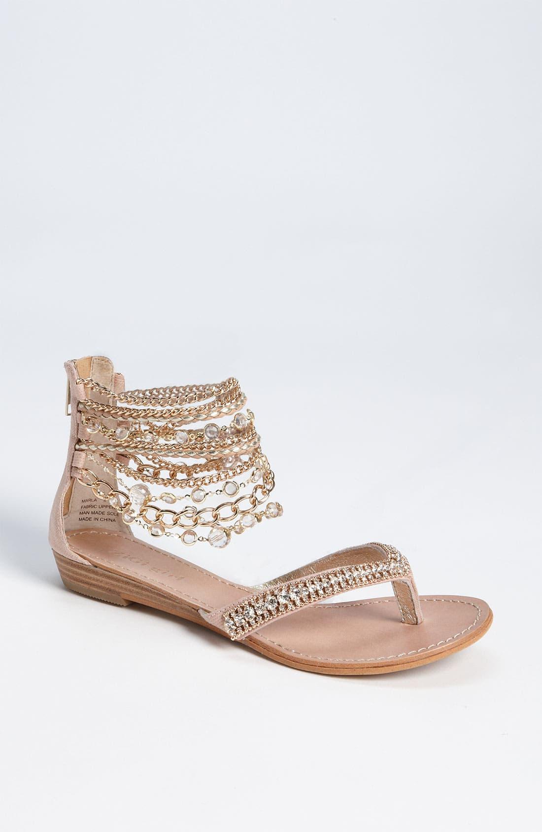 'Marla' Sandal, Main, color, 950