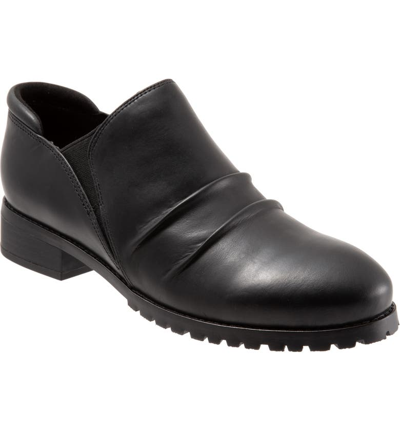 SOFTWALK<SUP>®</SUP> Mara Ankle Boot, Main, color, BLACK LEATHER