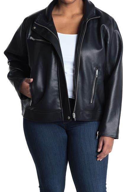 Image of BLANKNYC Denim Zip Moto Jacket
