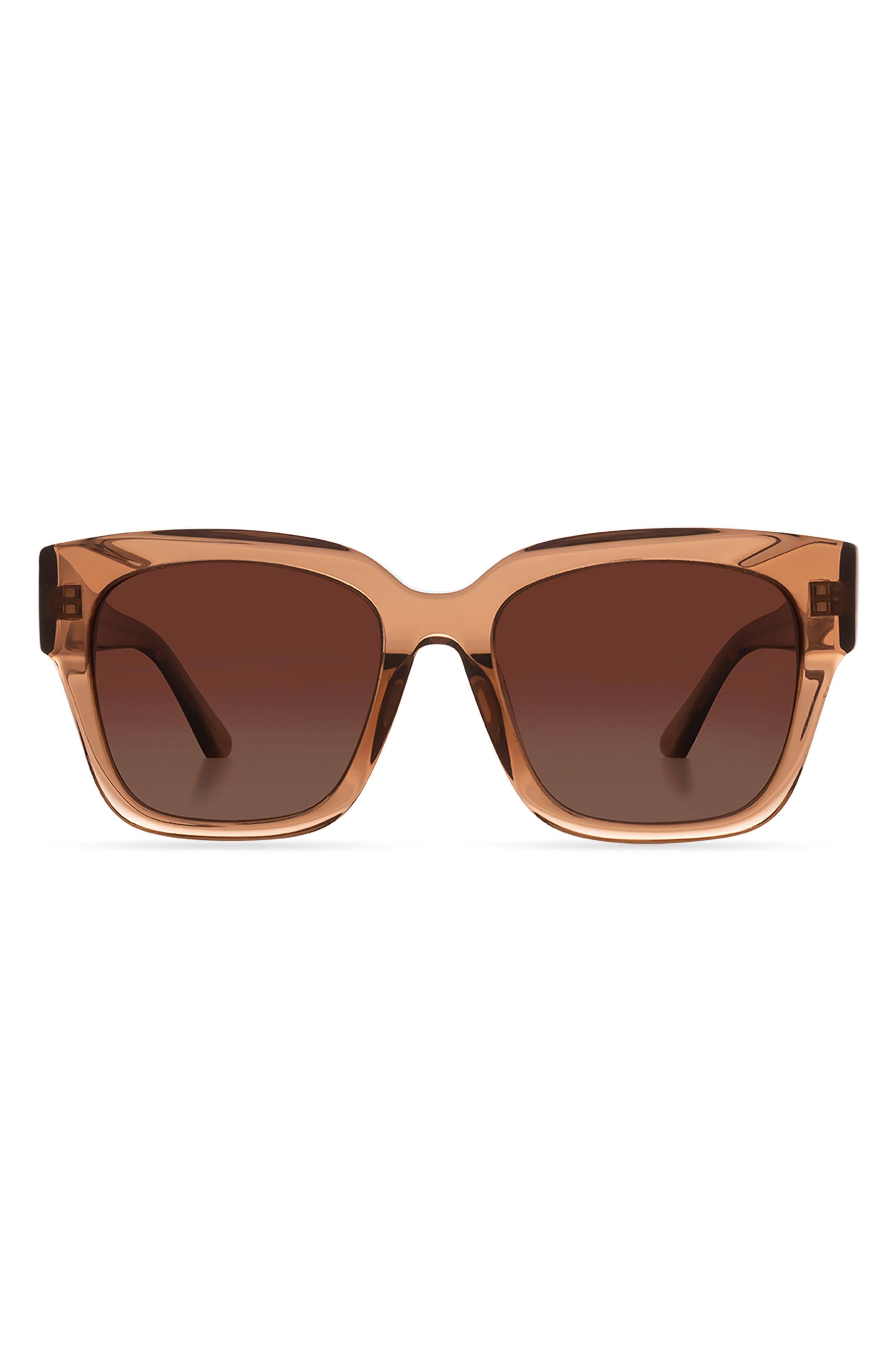 Bella Ii 54mm Polarized Square Sunglasses