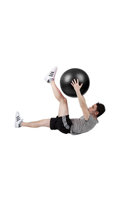 Image of MIND READER Large Exercise Yoga Ball & Quick Pump