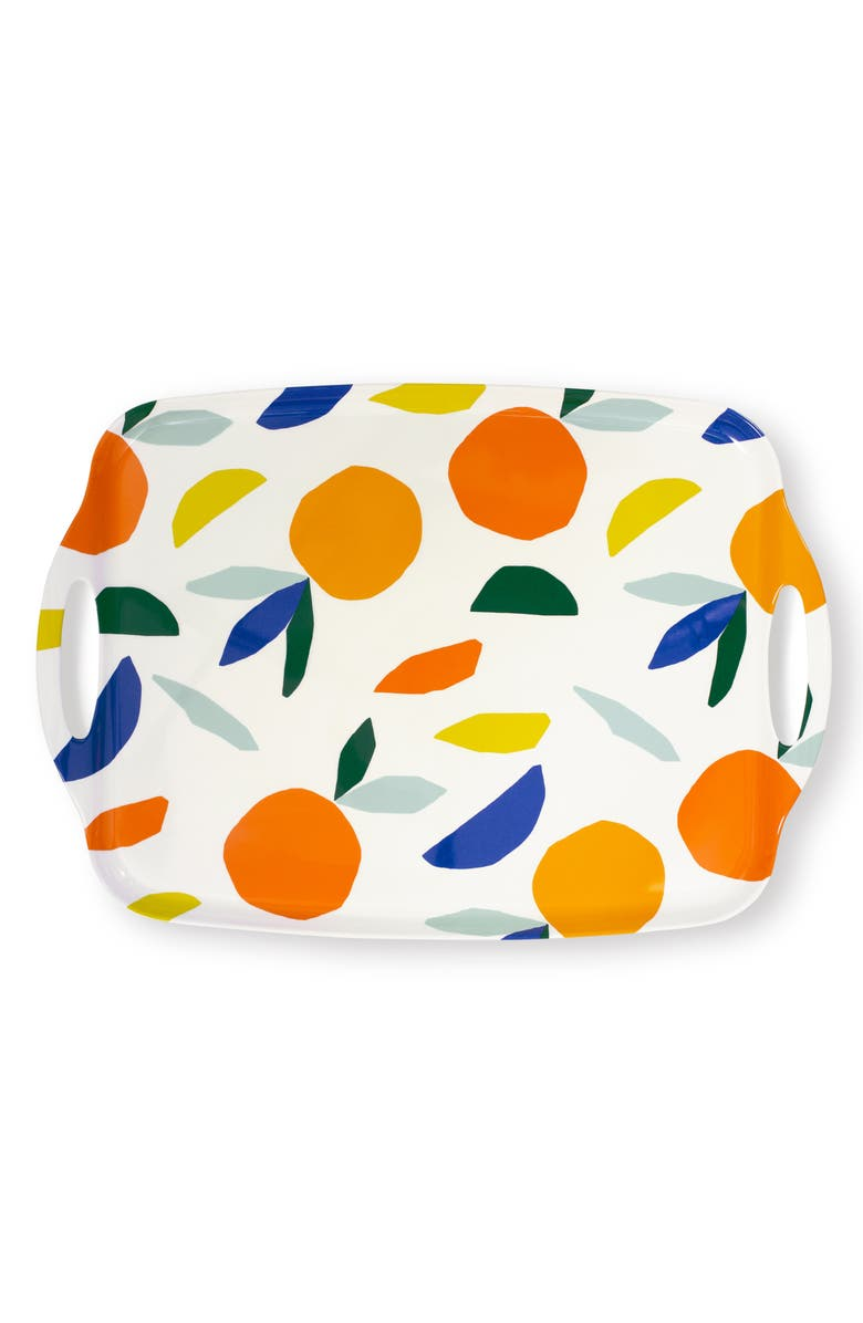KATE SPADE NEW YORK oranges serving tray, Main, color, ORANGE
