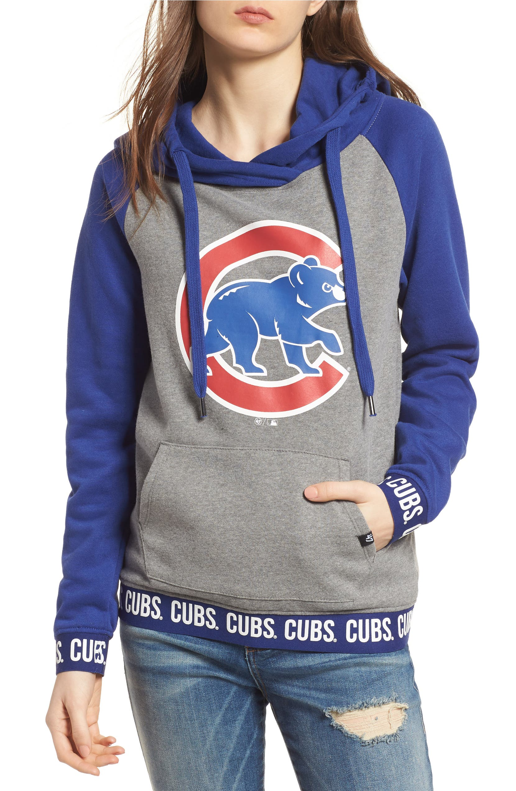 on sale 868a6 fb224 Encore Revolve Chicago Cubs Hoodie