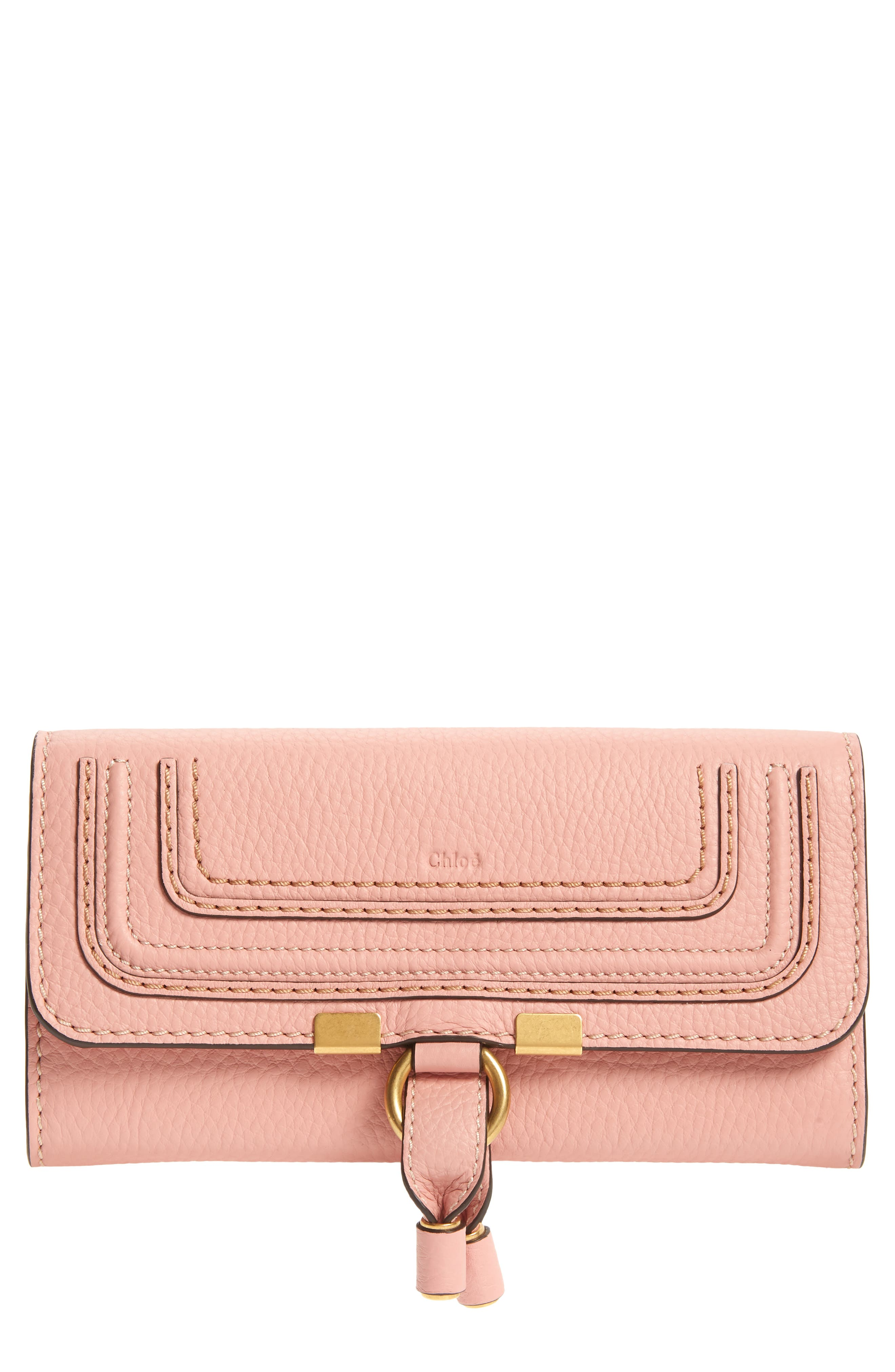 Chloé Marcie Leather Flap Wallet | Nordstrom