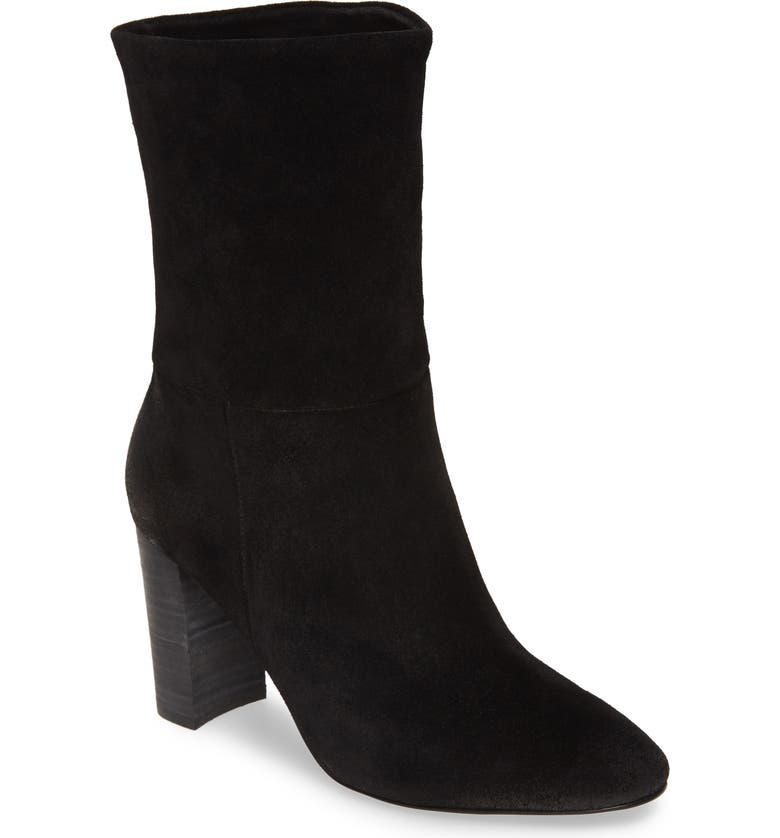 CHARLES BY CHARLES DAVID Burbank Bootie, Main, color, BLACK SUEDE