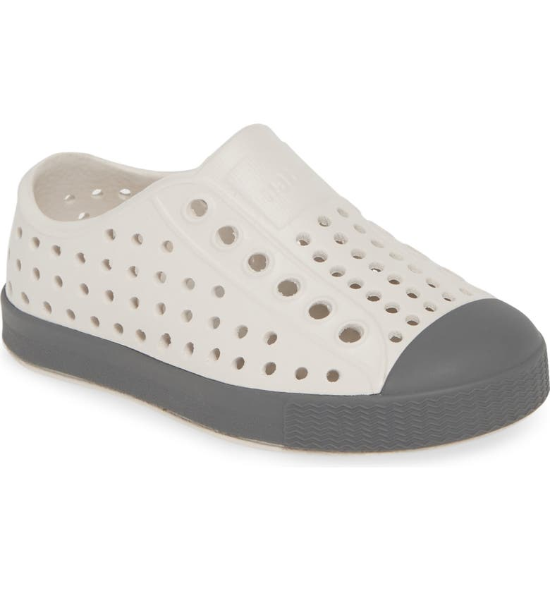 NATIVE SHOES 'Jefferson' Water Friendly Slip-On Sneaker, Main, color, CLOUD GREY/ DUBLIN GREY
