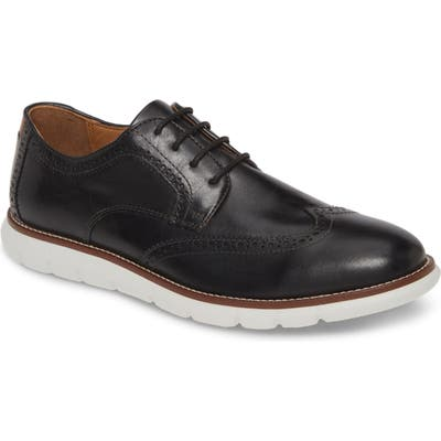 Johnston & Murphy Holden Wingtip, Black